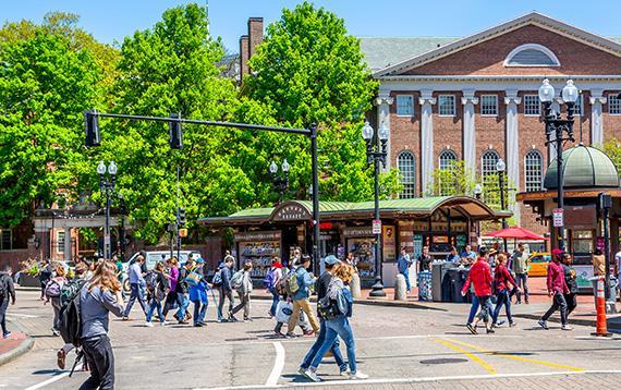 Harvard Square Near Continuum Allston
